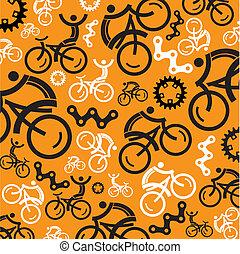 カラフルである, 背景, サイクリング