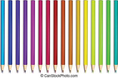 カラフルである, 鉛筆