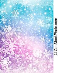 カラフルである, 雪, 背景
