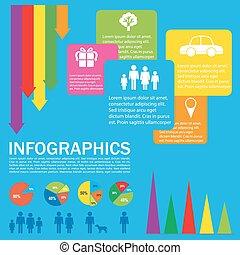 カラフルである, infochart