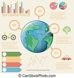 カラフルである, infographics