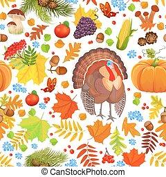 カラフルである, seamless, 手ざわり, ∥で∥, 秋, 要素, そして, 美しい, トルコ