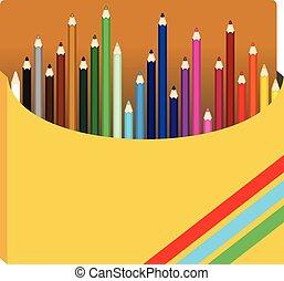 カラードの鉛筆, インボックス
