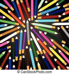 カラードの鉛筆, 背景