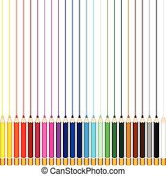 カラードの鉛筆