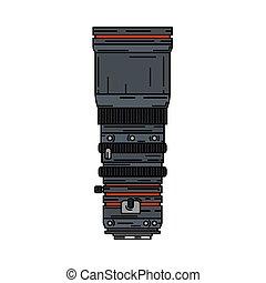カラー写真, fish, equipment., 目, design., スタイル, カメラマン, カメラ, デジタル, studio., 写真撮影, レンズ, portrait., 線, 写真, 漫画, アイコン, イラスト, 望遠レンズ, ベクトル, スナップショット, 専門家, art.