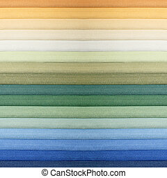 カラー材料見本, 2
