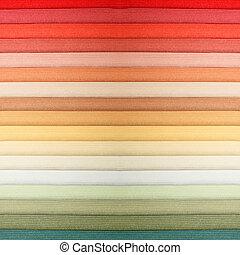カラー材料見本, 3