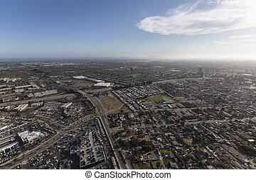 カリフォルニア,  ventura, 航空写真,  oxnard, 光景