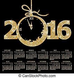 カレンダー, ∥ために∥, 2016