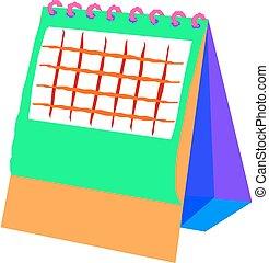 カレンダー, ブランク, デスクトップ