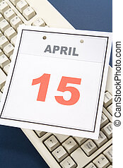 カレンダー, 税, 日