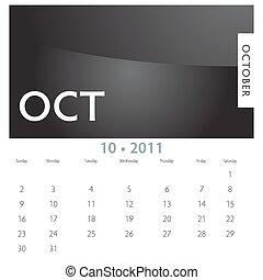 カレンダー, 10 月