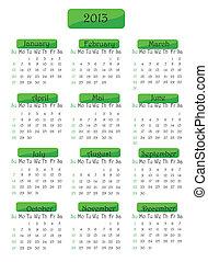 カレンダー, 2013, 年