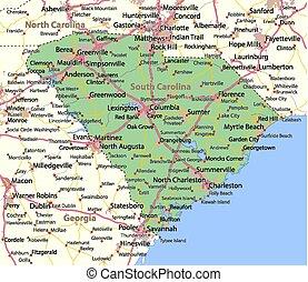 カロライナ, 南
