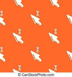 カーソル, パターン, ベクトル, オレンジ
