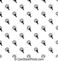 カーソル, 単純である, スタイル, 矢パターン