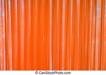 カーテン, カラーオレンジ