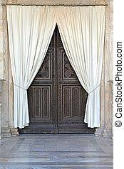 カーテン, ドア