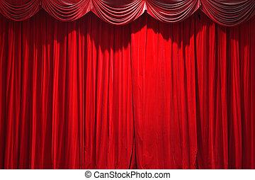 カーテン, 古典である, 劇場