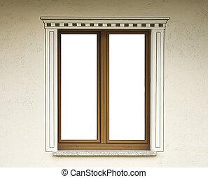 カーテン, 壁, 木製である, 窓, 装飾, 白