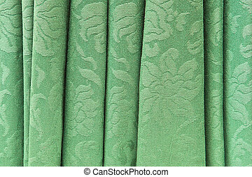 カーテン, 緑