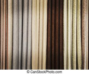 カーテン, 色, 混合, 絵, 概念, オイル