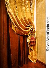 カーテン, 装飾