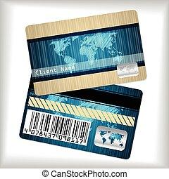 カード, しまのある, 忠誠, 地図, 走り書きされた