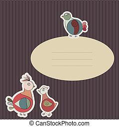 カード, ∥で∥, トルコ, 鳥, そして, ハト