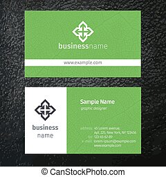 カード, テンプレート, ビジネス
