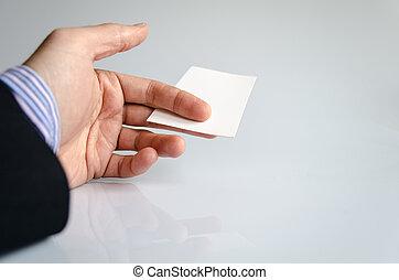 カード, ビジネス