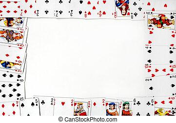 カード, フレーム
