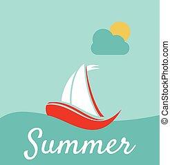 カード, 夏