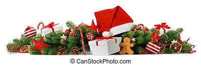 カード, 挨拶, クリスマス, 陽気