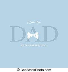 カード, 日, ベクトル, 父, 挨拶, 幸せ, イラスト