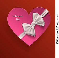 カード, 日, 挨拶, バレンタイン