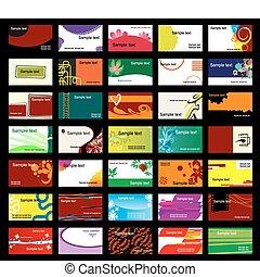 カード, 様々, ビジネス