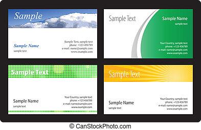カード, 病気, ベクトル, template., ビジネス