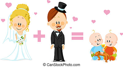 カード, 結婚式