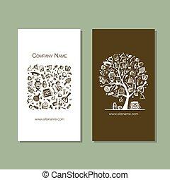 カード, 要素を設計しなさい, 浴場, ビジネス