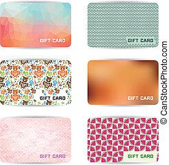 カード, 贈り物