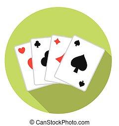 カード, 遊び, デッキ