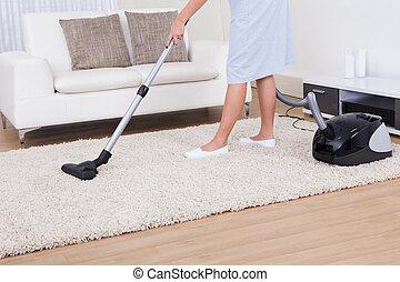カーペットの洗剤, 真空, 清掃, お手伝い