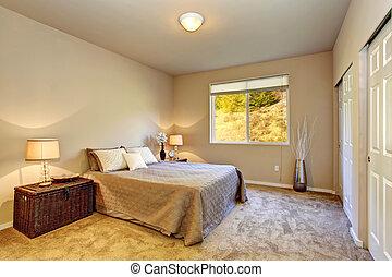 カーペット, 州, lamps., 芸術, 寝室