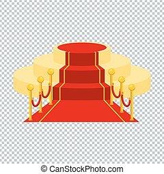 カーペット, 透明, 赤, ackground