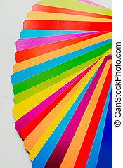 ガイド, チャートを彩色しなさい