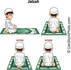 ガイド, ポジション, ステップ, muslim, 祈とう, 能力を発揮しなさい, 男の子, 悪事