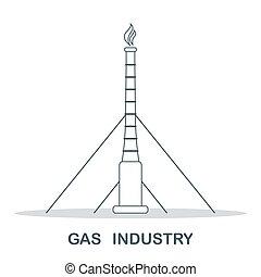 ガス, 産業, equipment., 抽出