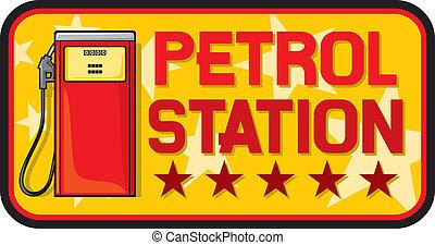 ガソリン 場所